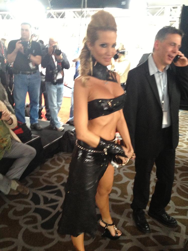 porn movie awards Chyna Acts Extremely Bizarre At AVN Awards - WrestlingInc.com.